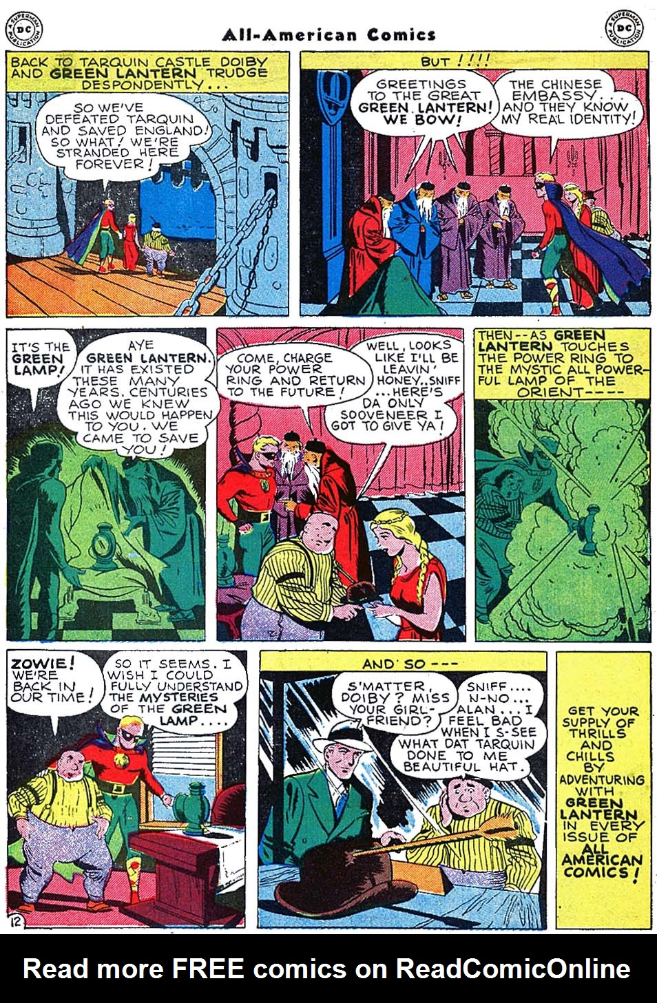 Read online All-American Comics (1939) comic -  Issue #72 - 14