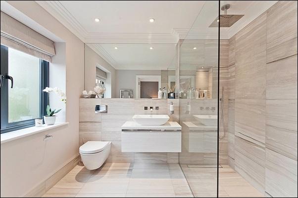 banheiro grande luxuoso