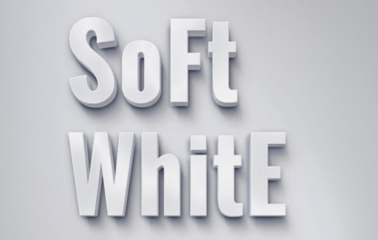 06. SOFT WHITE TEXT EFFECT