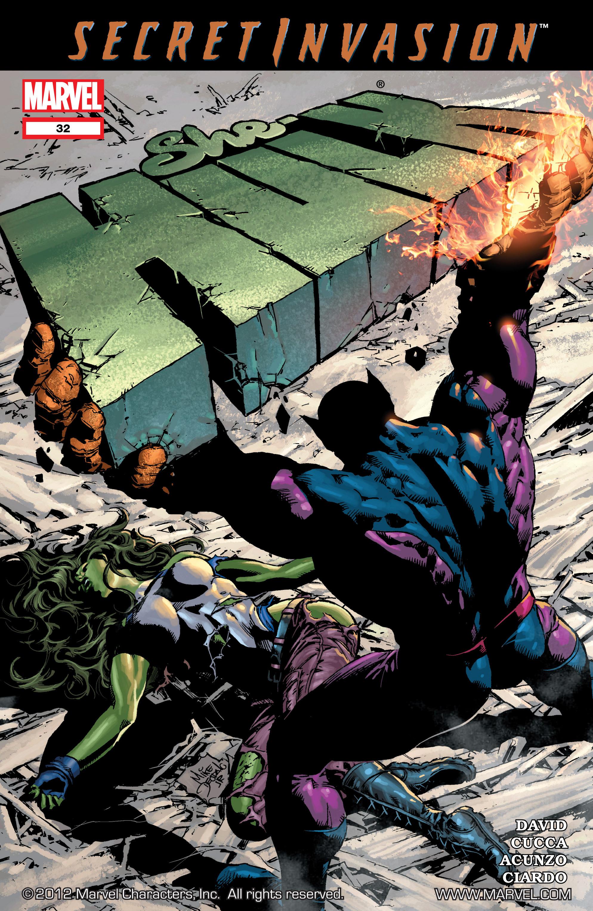 Read online She-Hulk (2005) comic -  Issue #32 - 1