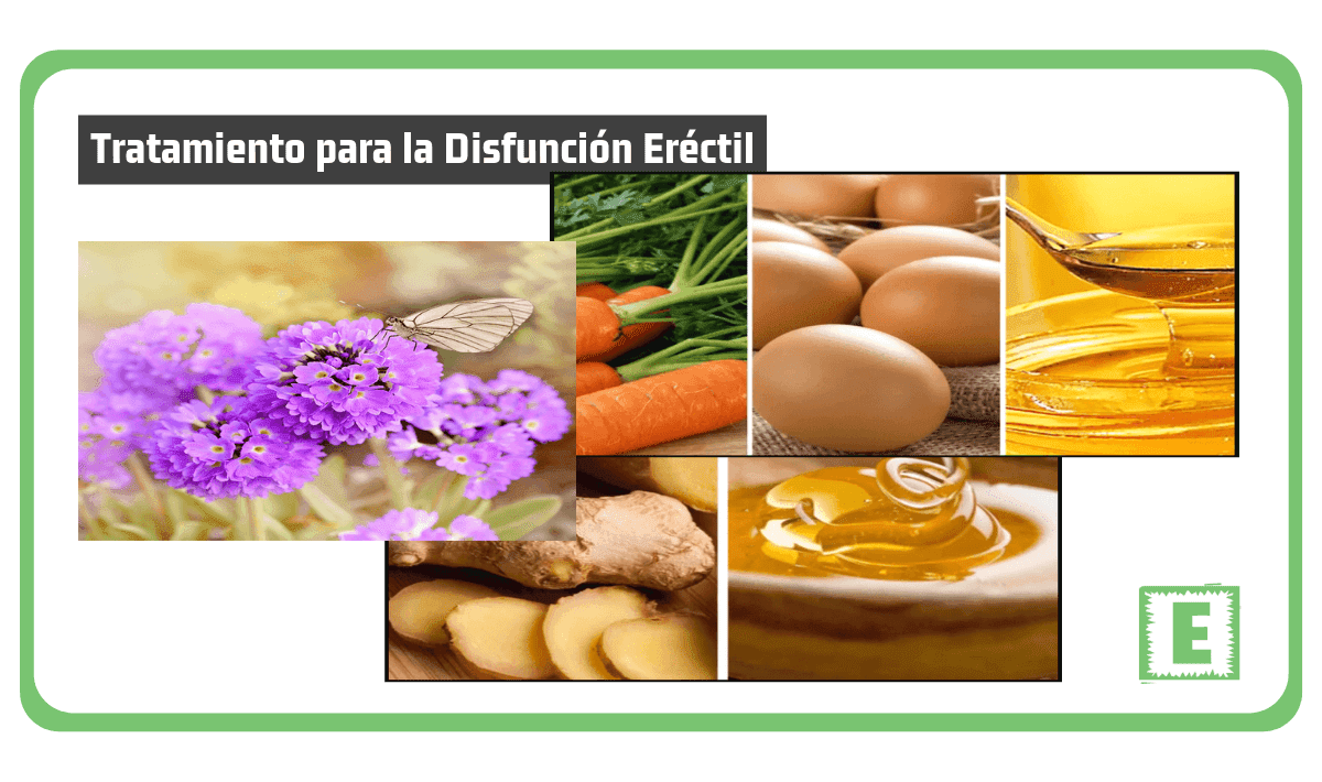alimentos naturales para aumentar la disfunción eréctil