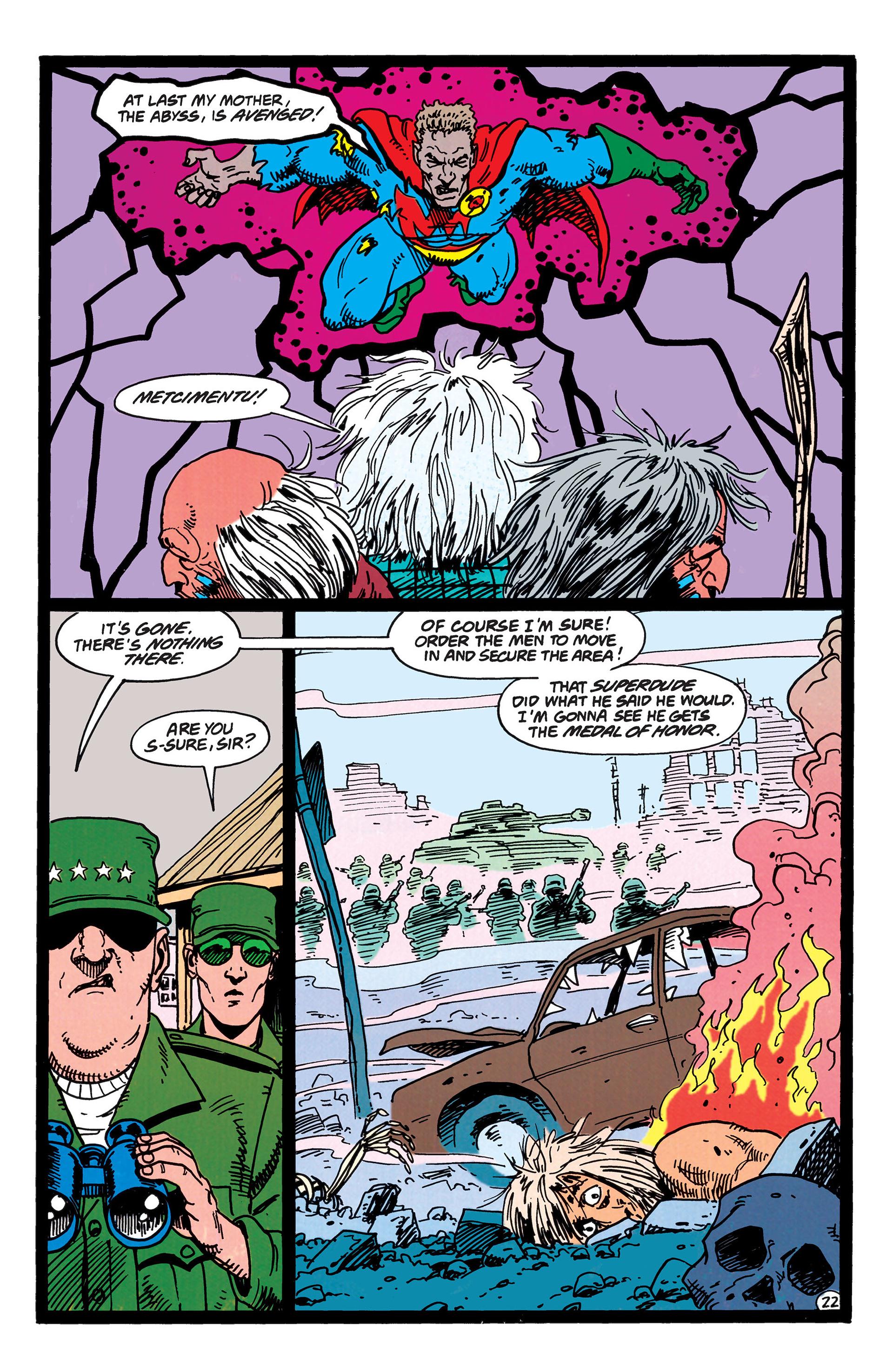 Read online Animal Man (1988) comic -  Issue #50 - 22