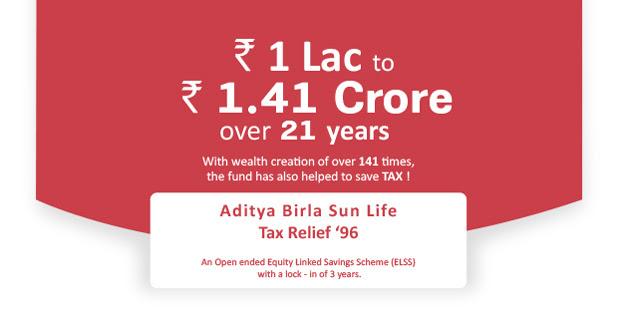 Tax Saving Mutual Funds Online: Save Tax with Aditya Birla ...