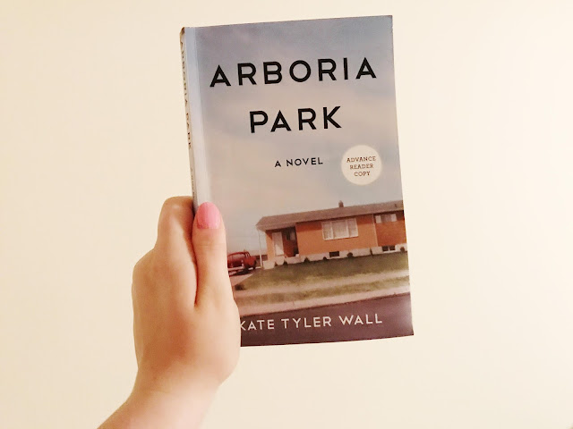 booksparks, arboria park, Kate Tyler Wall, book tour, book review