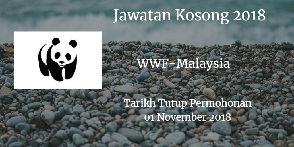 Jawatan Kosong WWF-Malaysia 01 November 2018
