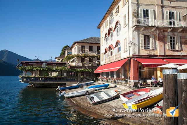 Ristoranti ed alberghi sul lago ad Orta san Giulio
