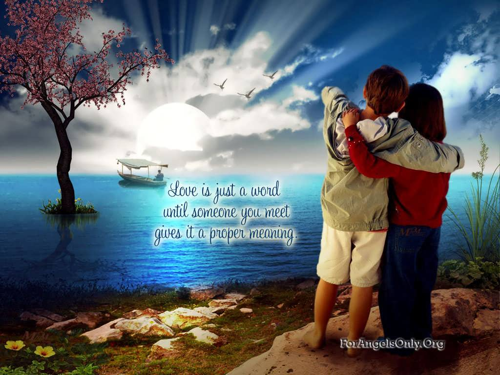 Most Romantic Wallpapers With Love Quotes Hd Wallpaper: Couple Love Wallpapers