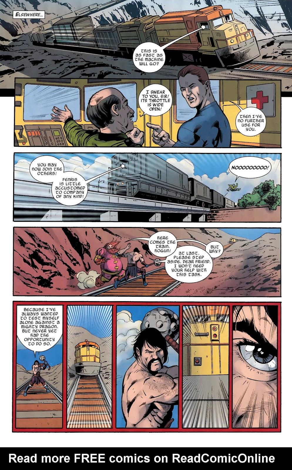 Warriors Three Issue #4 #4 - English 13