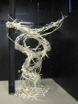 Esculturas reciclada de  Sayaka Ganz
