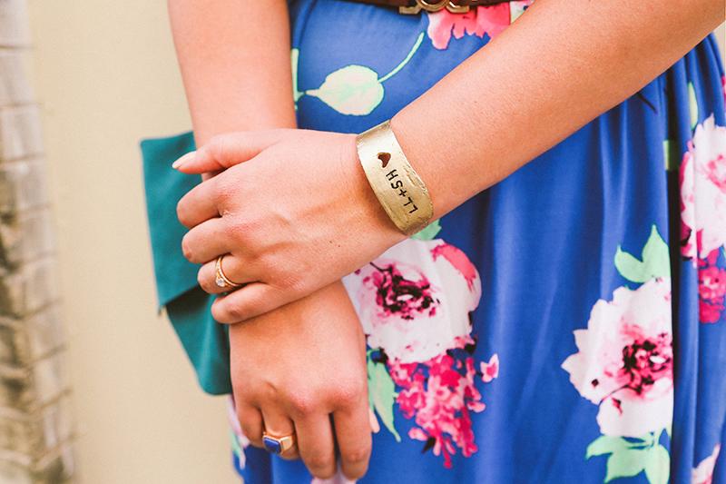 uncommon goods, handmade jewelry, gold cuff bracelet