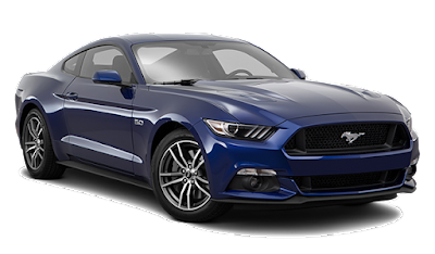 Ford Mustang GT blue color Hd picture