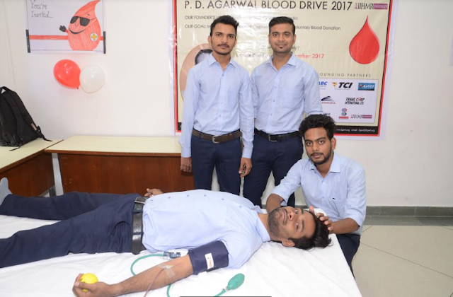 SHRI P.D. AGARWAL 10th BLOOD DONATION DRIVE
