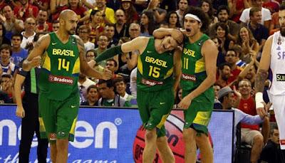 Brazil Men's Basketball PyeongChang Olympics Team Roster 2018