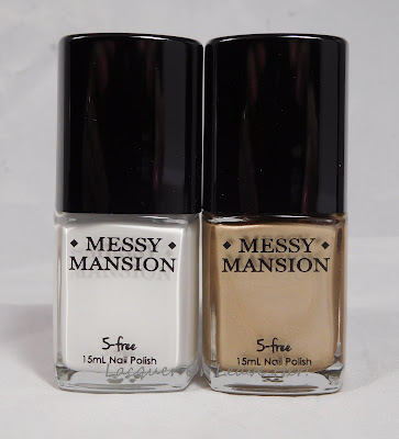 Messy Mansion Chalk and Soft Gold