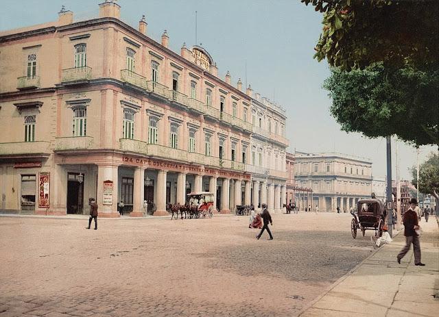 hình ảnh của khách sạn Gran Inglaterra ở Habana, Cuba.