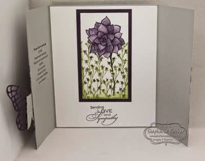 Stampin Up Saleabration 2015 Nature's Perfection, gate fold card
