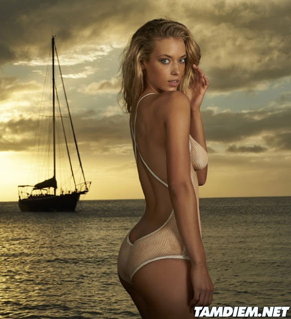 Hot girls Hannah Ferguson sexy body painting 3