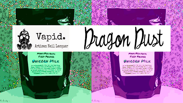 Vapid Lacquer Dragon Dust Fizzy Powder in Unicorn Milk