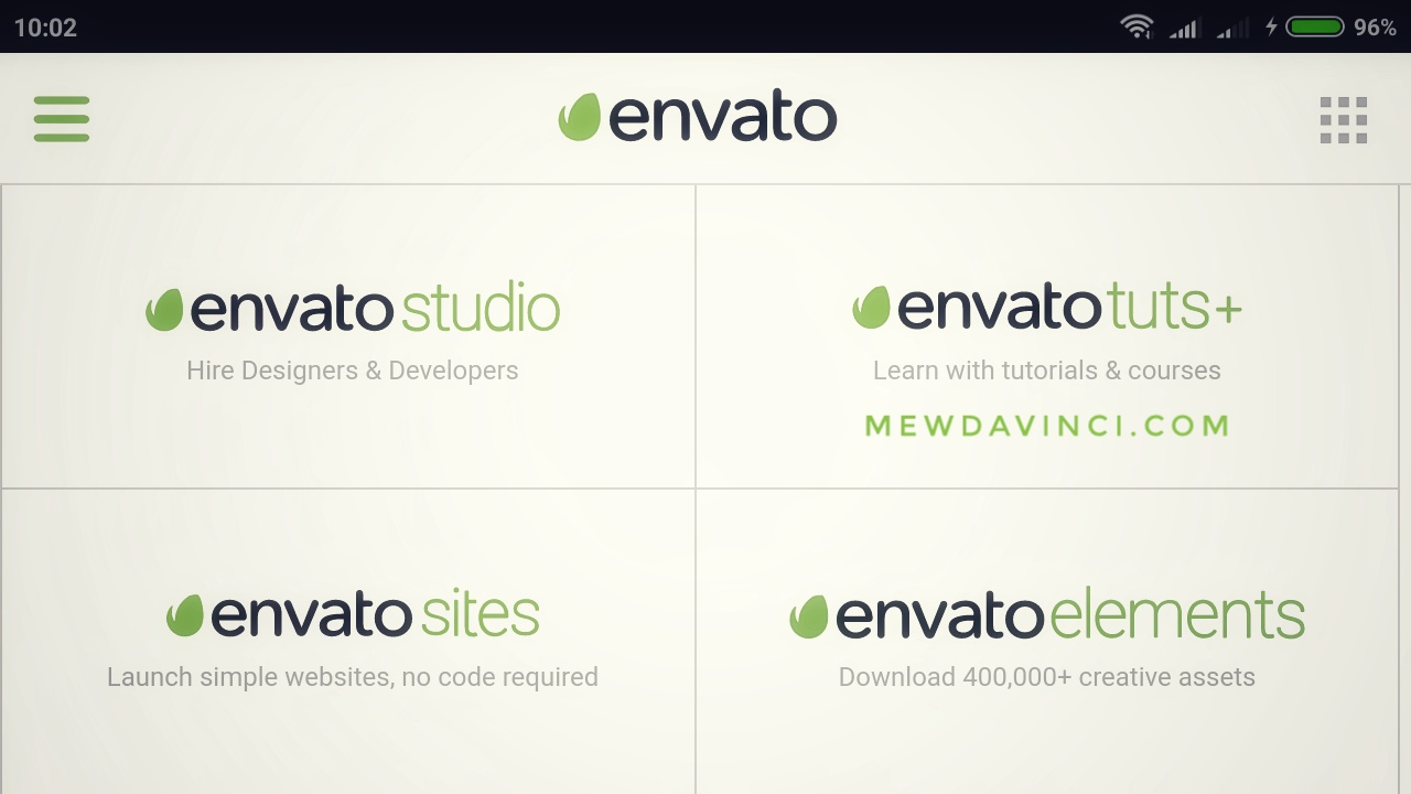 Envato is our market place