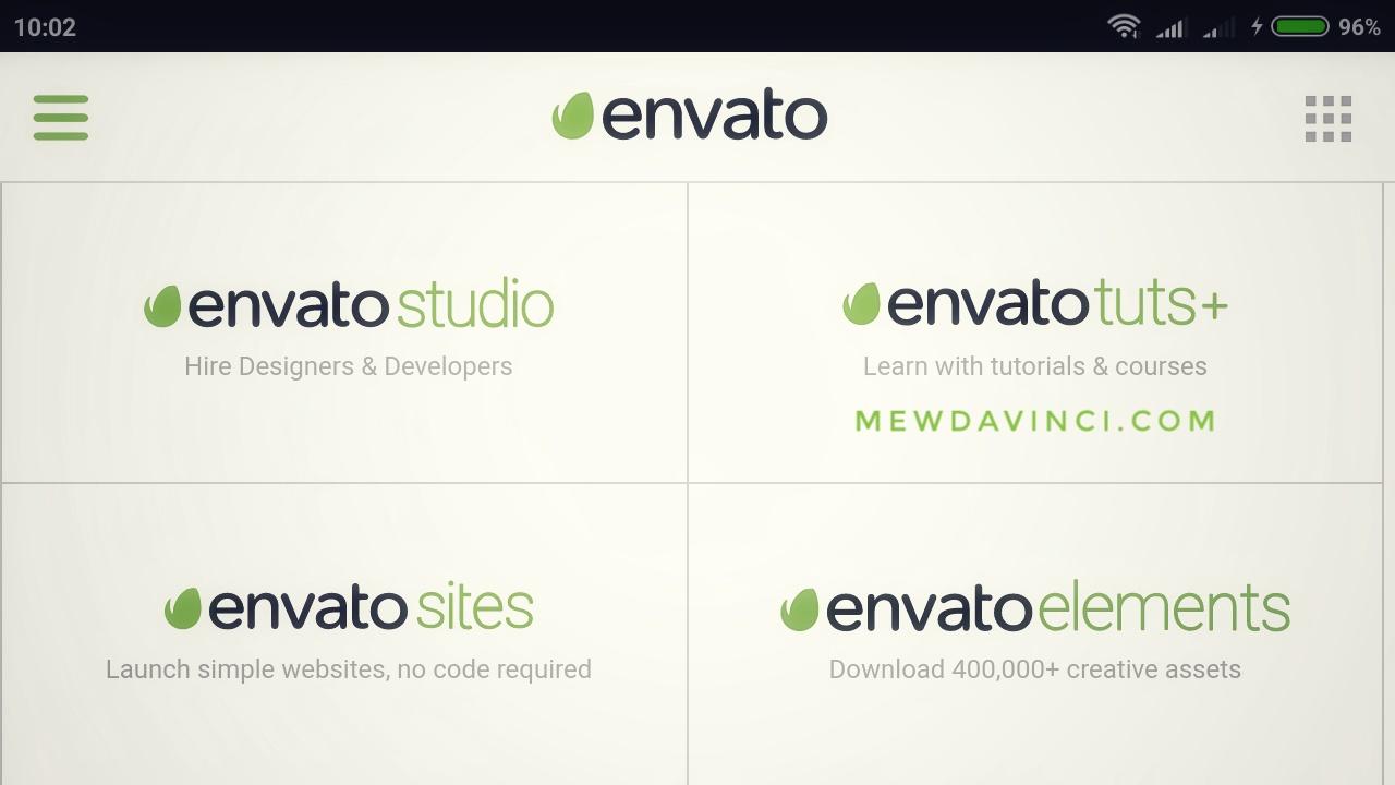 Envato is our market place