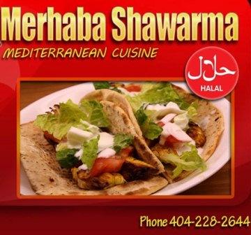 Dunaire Neighbors: Dunaire Dines Out at Merhaba Shawarma!