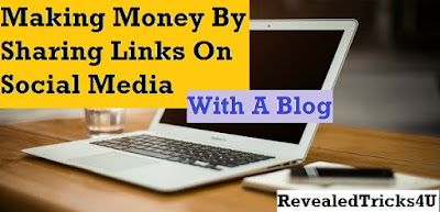 How to make money online by sharing links of your blog posts. Tricks to earn money easily.