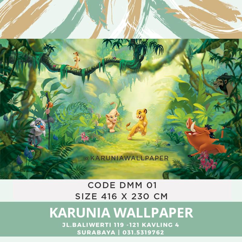 jual wallpaper dinding winnie the pooh