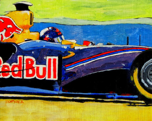 F1 | bruce docker | racing art