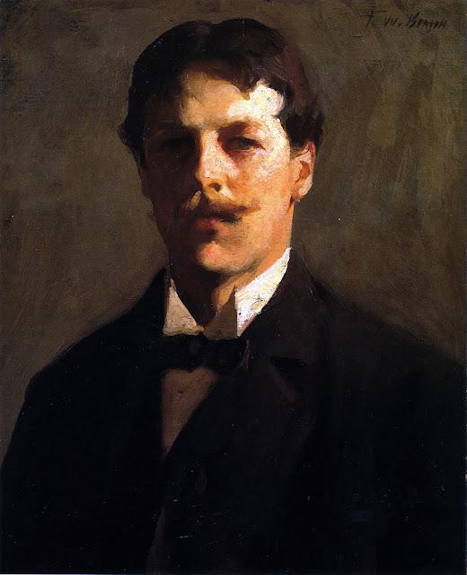 Frank Weston Benson, International Art Gallery, Self Portrait, Art Gallery, Portraits of Painters, Fine arts, Self-Portraits, Painter Frank Weston, Self-Portrait