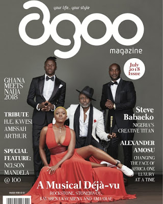 Reggie Rockstone, Stonebwoy, Amaa Rae, Kwabena Kwabena Featured In New Agoo Magazine Edition