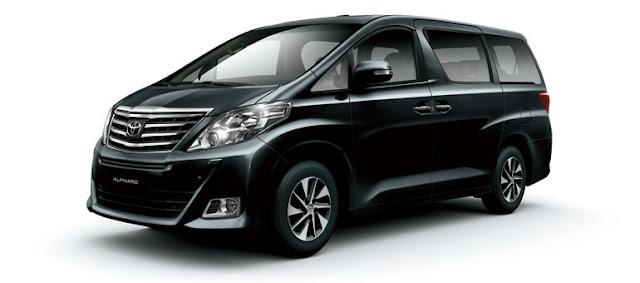 Rental Mobil Jakarta Alphard