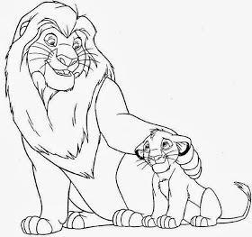 Cuento Del Rey León Para Colorear Aprendamos Pintando