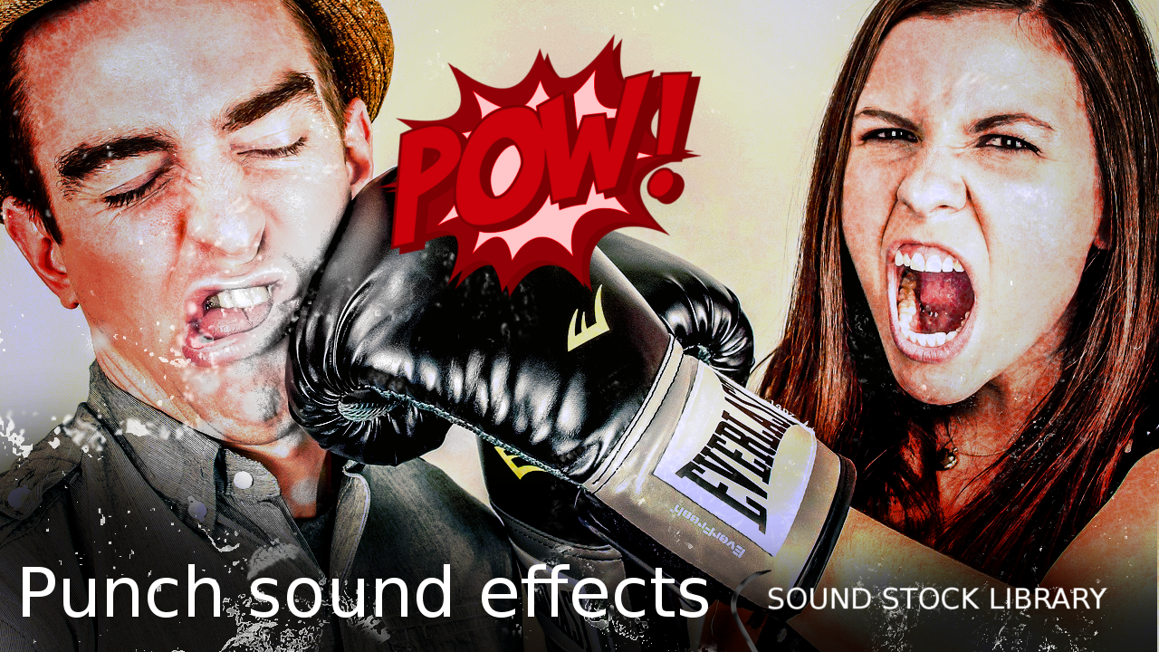 Punch sound effect - sound stock library