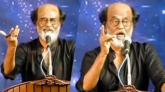 "Superstar Rajinikanth's Full Speech:""Some people used my name in Politics and earned Money""