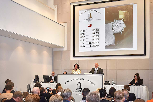 New record for a Lange 1 in steel at Dr. Crott Auctioneers