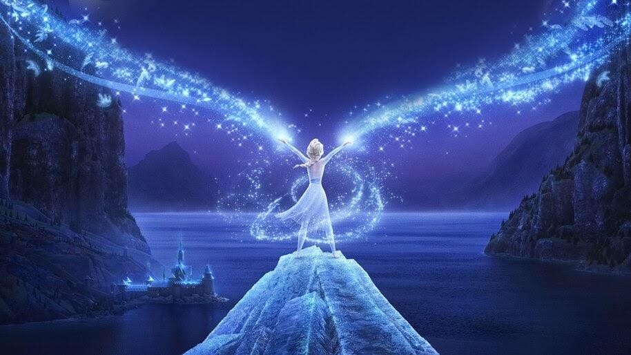 Elsa Frozen 2 4k Wallpaper 31275