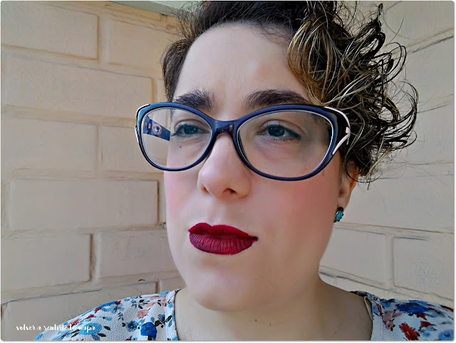 Labial Velvetines de Lime Crime en el tono Wicked