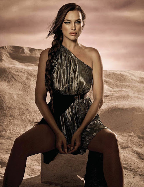 Fantasy Fashion Design: La Reina del Desierto en Vogue ...