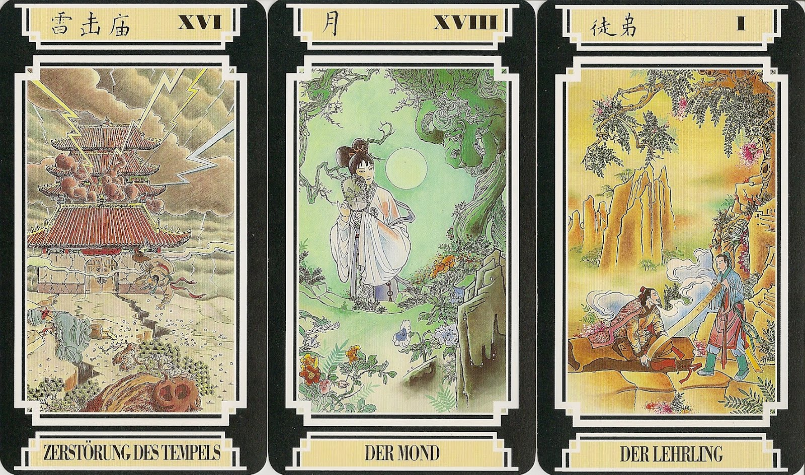 Tarot Card Meanings List - 78 Cards By Suit Element and Zodiac Labyrinthos