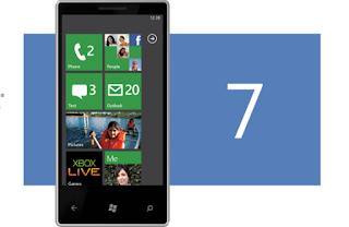 WP 7 phone