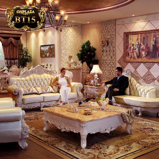 Ảnh: Ghế sofa cổ điển BT15