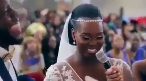 Trending Video: This Bride Refused To Say For Richer & For Poorer At Her Wedding