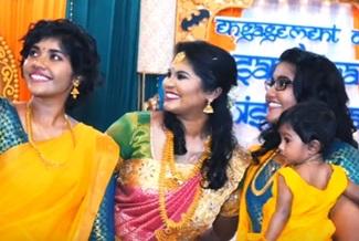 Engagement highlight of Athisswaran & Santhiya