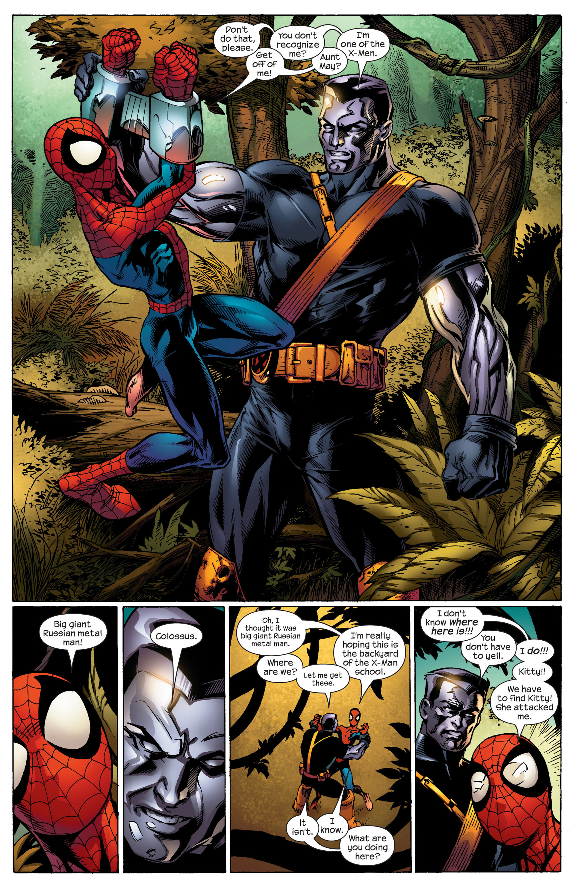 Read online Ultimate Spider-Man (2000) comic -  Issue #92 - 11