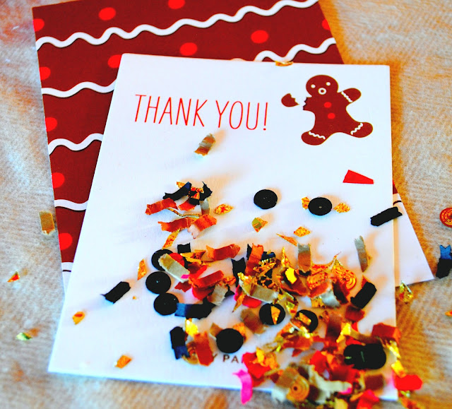 Oh Snap Thank you card, Fizzy Party