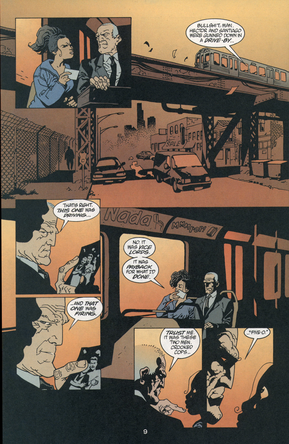 Read online 100 Bullets comic -  Issue #1 - 10