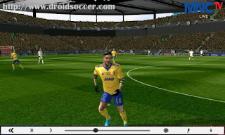 Download FTS Mod PES 2018 by Ical Apk + Data Obb