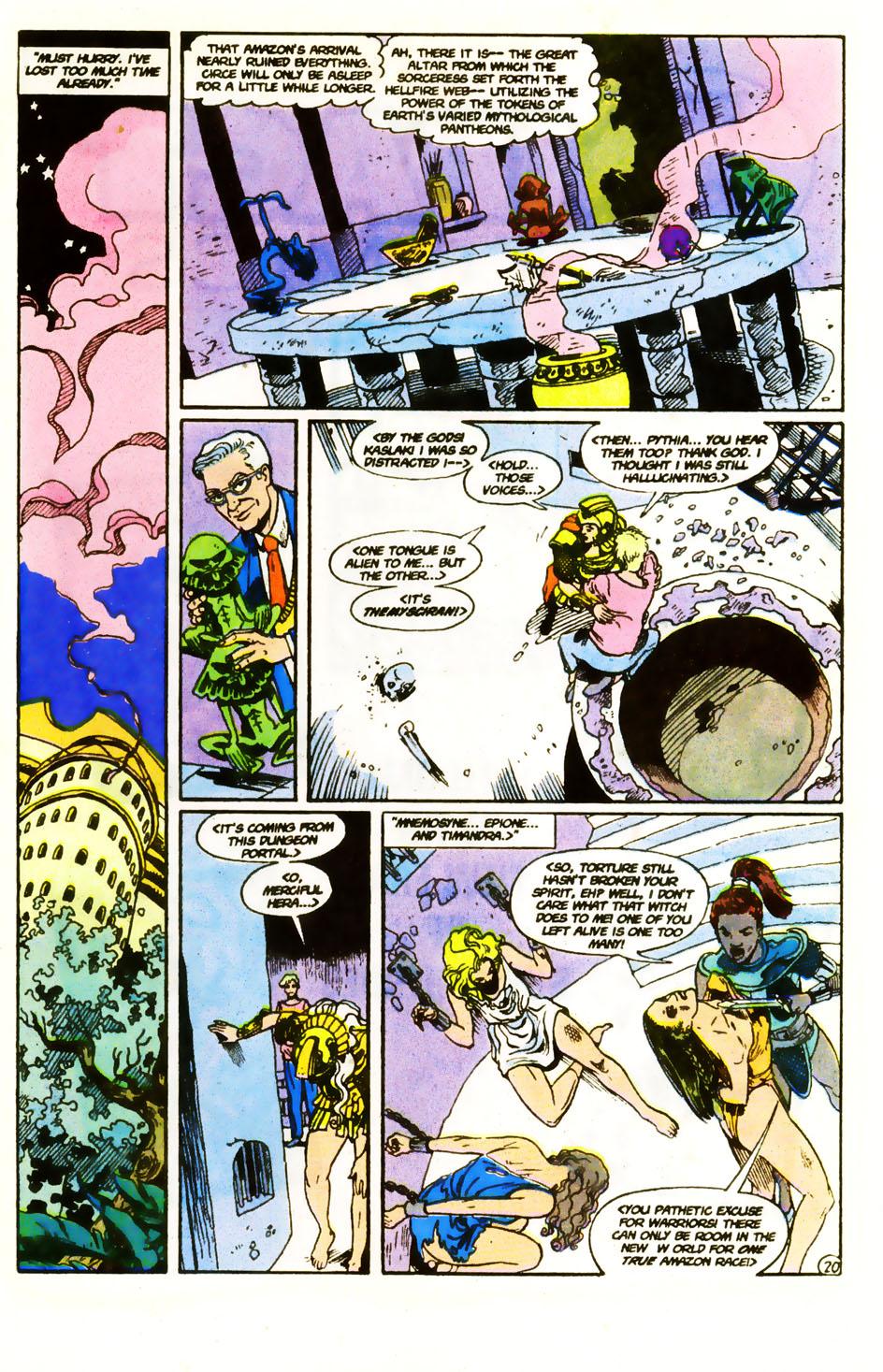 Read online Wonder Woman (1987) comic -  Issue #59 - 22