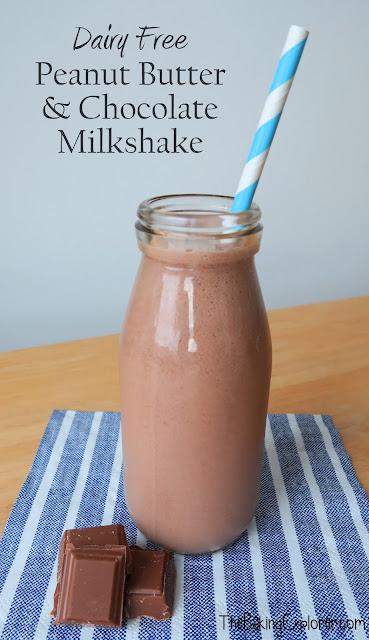 Dairy-Free Peanut Butter Chocolate Milkshake