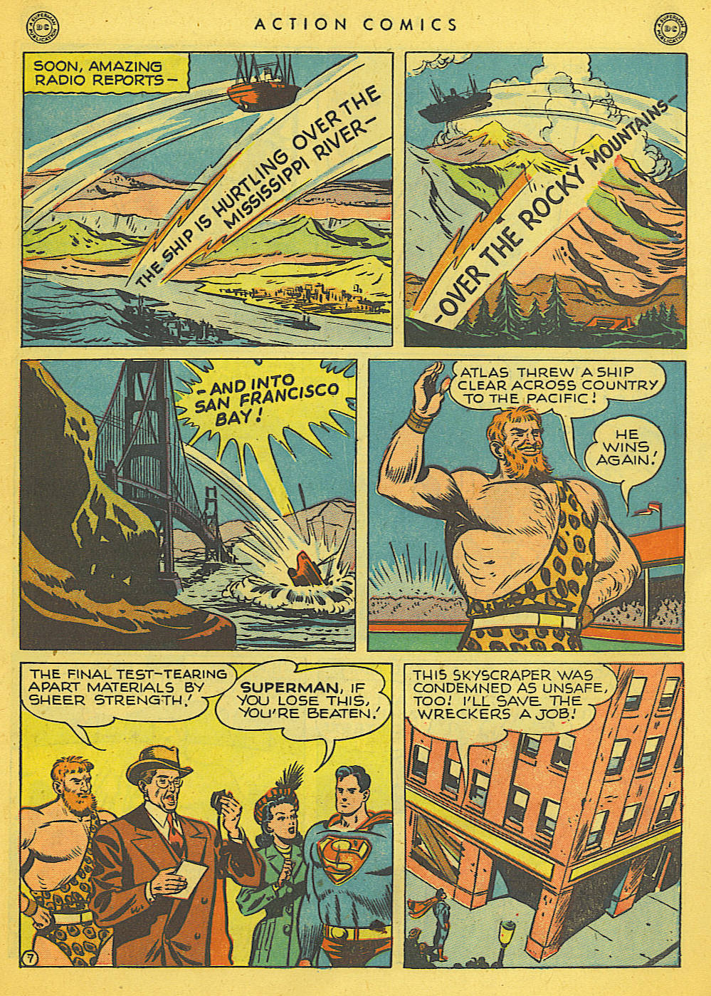 Action Comics (1938) 121 Page 7